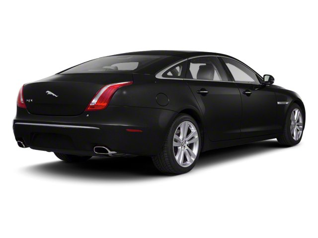 Ultimate Black 2013 Jaguar XJ Pictures XJ Sedan 4D AWD V6 photos rear view