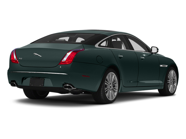 British Racing Green 2013 Jaguar XJ Pictures XJ Sedan 4D Speed V8 Supercharged photos rear view