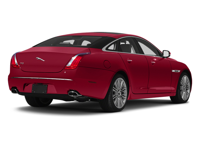Carnelian Red 2013 Jaguar XJ Pictures XJ Sedan 4D Speed V8 Supercharged photos rear view