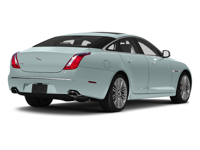 Crystal Blue 2013 Jaguar XJ Pictures XJ Sedan 4D Speed V8 Supercharged photos rear view