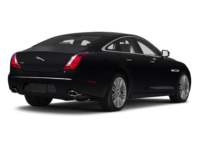 Ebony 2013 Jaguar XJ Pictures XJ Sedan 4D Speed V8 Supercharged photos rear view