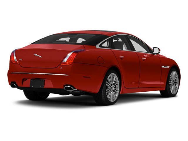 Italian Racing Red 2013 Jaguar XJ Pictures XJ Sedan 4D Speed V8 Supercharged photos rear view