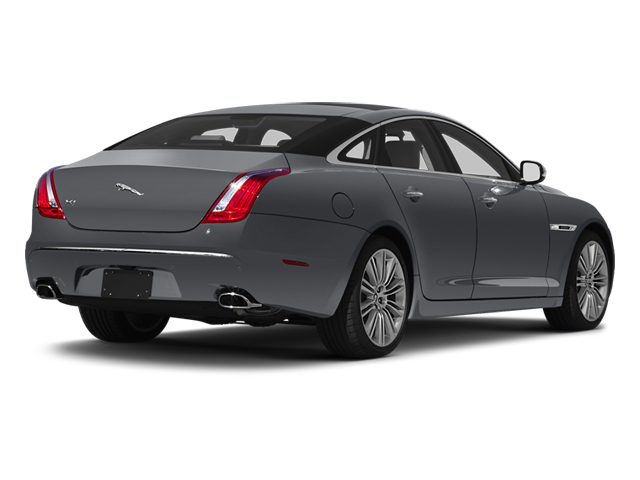 Lunar Grey 2013 Jaguar XJ Pictures XJ Sedan 4D Speed V8 Supercharged photos rear view