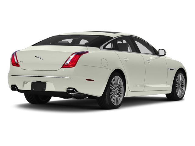 Polaris White 2013 Jaguar XJ Pictures XJ Sedan 4D Supersport V8 photos rear view
