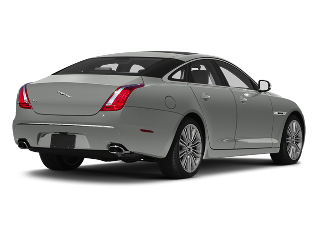 Rhodium Silver 2013 Jaguar XJ Pictures XJ Sedan 4D Speed V8 Supercharged photos rear view