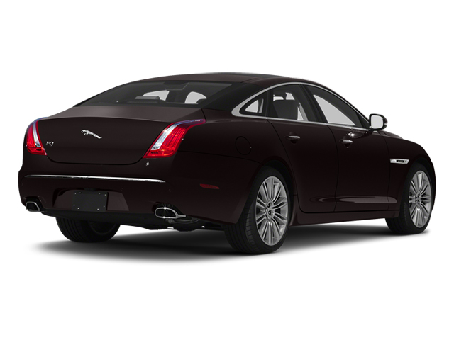 Ultimate Black 2013 Jaguar XJ Pictures XJ Sedan 4D Speed V8 Supercharged photos rear view