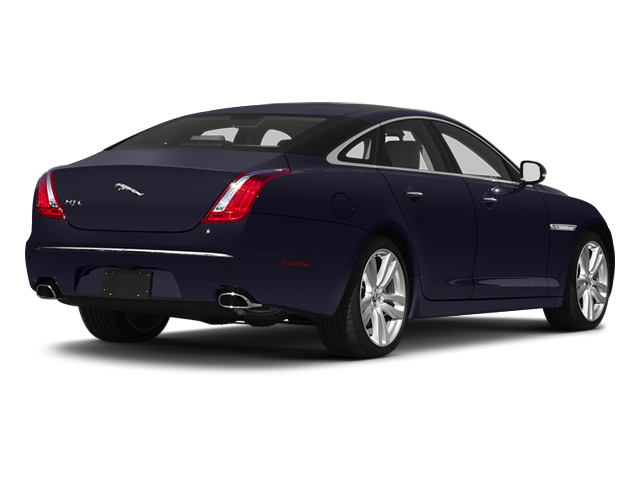 Black Amethyst 2013 Jaguar XJ Pictures XJ Sedan 4D L Ultimate V8 photos rear view