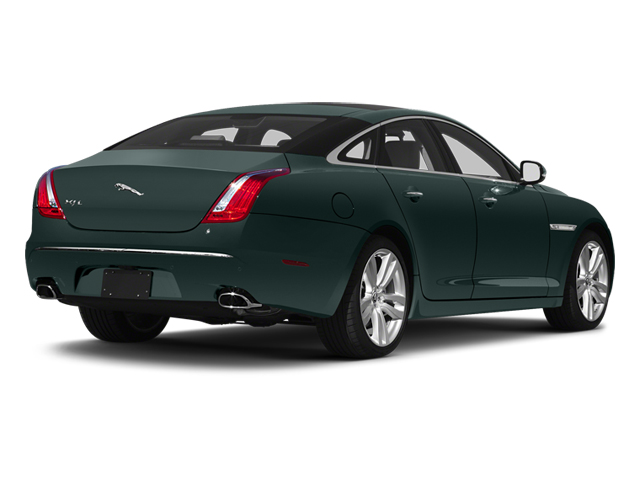 British Racing Green 2013 Jaguar XJ Pictures XJ Sedan 4D L Portfolio AWD V6 photos rear view
