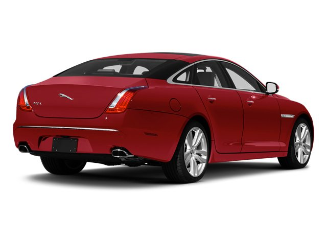 Carnelian Red 2013 Jaguar XJ Pictures XJ Sedan 4D L Portfolio AWD V6 photos rear view
