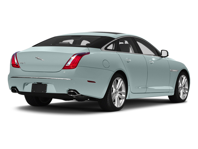 Crystal Blue 2013 Jaguar XJ Pictures XJ Sedan 4D L Supersport Speed V8 photos rear view