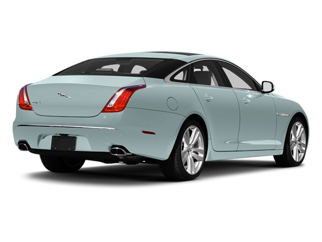 Crystal Blue 2013 Jaguar XJ Pictures XJ Sedan 4D L Portfolio AWD V6 photos rear view