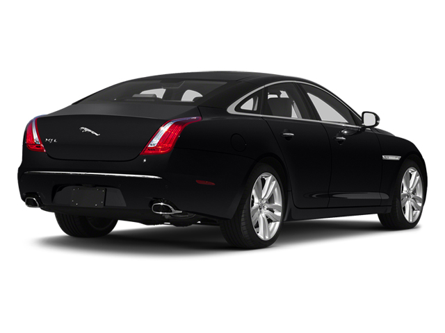 Ebony 2013 Jaguar XJ Pictures XJ Sedan 4D L Portfolio AWD V6 photos rear view