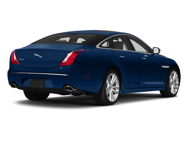 Indigo Blue 2013 Jaguar XJ Pictures XJ Sedan 4D L Portfolio AWD V6 photos rear view