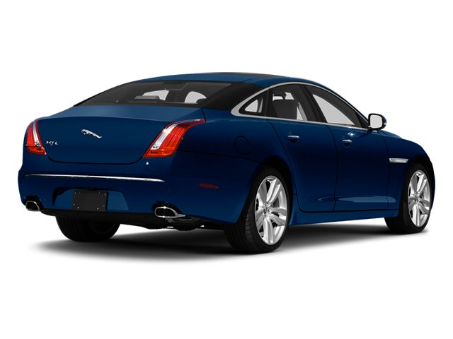 Indigo Blue 2013 Jaguar XJ Pictures XJ Sedan 4D L Supersport Speed V8 photos rear view