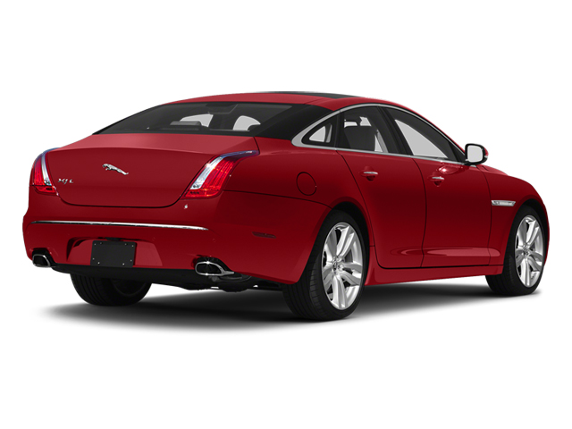 Italian Racing Red 2013 Jaguar XJ Pictures XJ Sedan 4D L Portfolio AWD V6 photos rear view