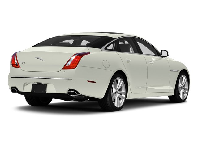 Polaris White 2013 Jaguar XJ Pictures XJ Sedan 4D L Portfolio AWD V6 photos rear view