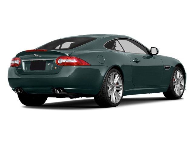 British Racing Green 2013 Jaguar XK Pictures XK Coupe 2D XKR Supercharged photos rear view