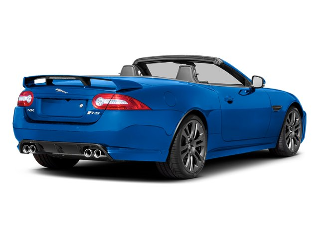 French Racing Blue 2013 Jaguar XK Pictures XK Convertible XKR-S Supercharged photos rear view