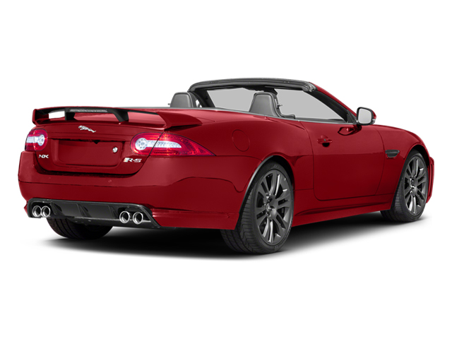 Italian Racing Red 2013 Jaguar XK Pictures XK Convertible XKR-S Supercharged photos rear view