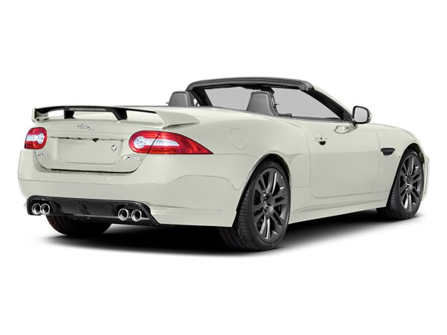 Polaris White 2013 Jaguar XK Pictures XK Convertible XKR-S Supercharged photos rear view