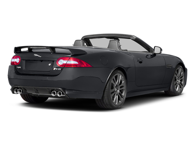 Stratus Grey Metallic 2013 Jaguar XK Pictures XK Convertible XKR-S Supercharged photos rear view