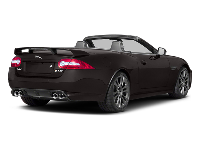 Ultimate Black Metallic 2013 Jaguar XK Pictures XK Convertible XKR-S Supercharged photos rear view