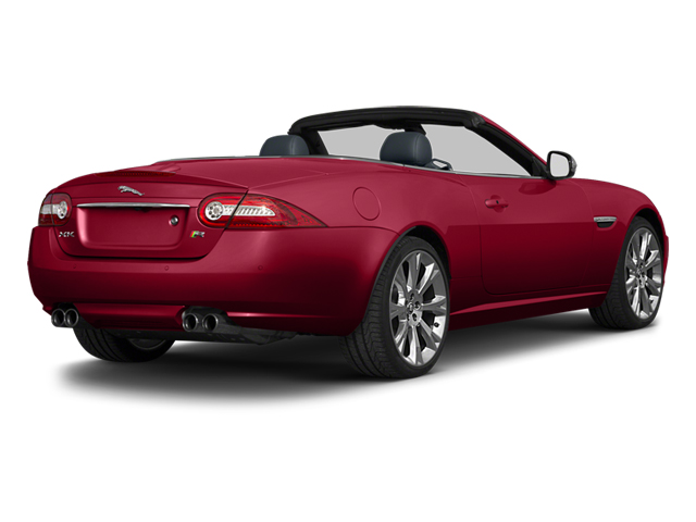 Carnelian Red Metallic 2013 Jaguar XK Pictures XK Convertible XKR Supercharged photos rear view