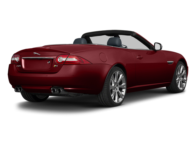 Claret 2013 Jaguar XK Pictures XK Convertible XKR Supercharged photos rear view