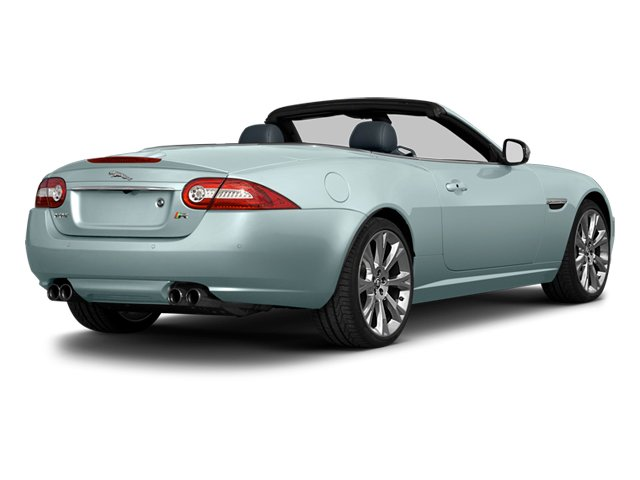 Crystal Blue Metallic 2013 Jaguar XK Pictures XK Convertible XKR Supercharged photos rear view