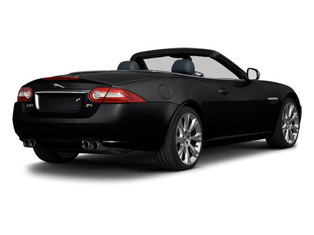 Ebony 2013 Jaguar XK Pictures XK Convertible XKR Supercharged photos rear view