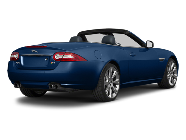 Indigo Blue Metallic 2013 Jaguar XK Pictures XK Convertible XKR Supercharged photos rear view