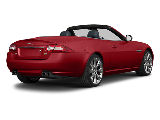 Italian Racing Red 2013 Jaguar XK Pictures XK Convertible XKR Supercharged photos rear view