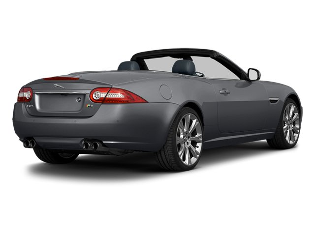 Lunar Grey Metallic 2013 Jaguar XK Pictures XK Convertible XKR Supercharged photos rear view