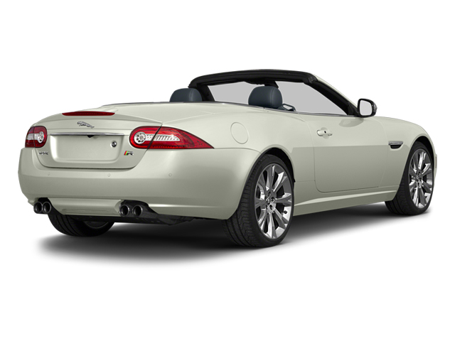 Polaris White 2013 Jaguar XK Pictures XK Convertible XKR Supercharged photos rear view