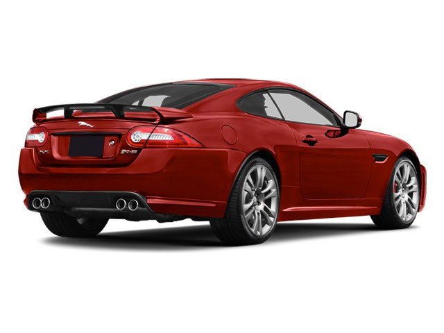 Italian Racing Red 2013 Jaguar XK Pictures XK Coupe 2D XKR-S Supercharged photos rear view
