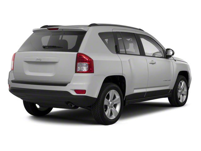 Bright Silver Metallic 2013 Jeep Compass Pictures Compass Utility 4D Sport 2WD photos rear view