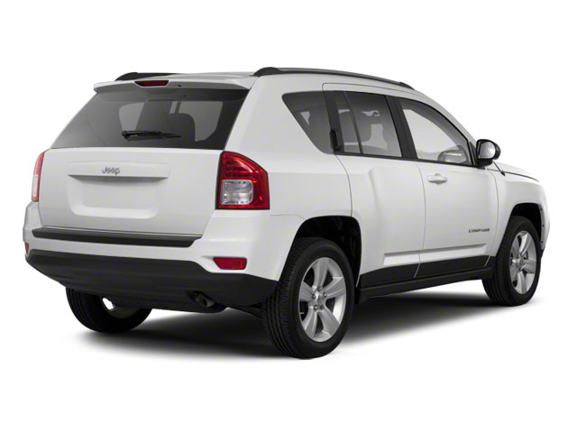 Bright White 2013 Jeep Compass Pictures Compass Utility 4D Latitude 2WD photos rear view