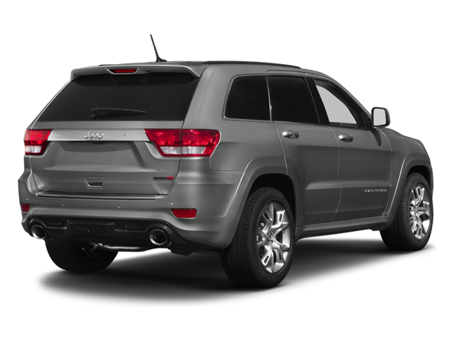 Mineral Gray Metallic 2013 Jeep Grand Cherokee Pictures Grand Cherokee Utility 4D SRT-8 4WD photos rear view