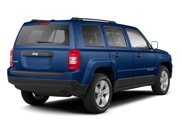 True Blue Pearl 2013 Jeep Patriot Pictures Patriot Utility 4D Limited 2WD photos rear view