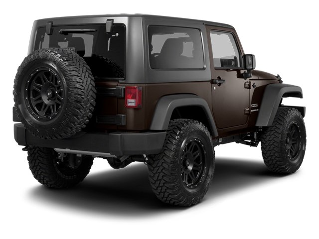 Rugged Brown Pearl 2013 Jeep Wrangler Pictures Wrangler Utility 2D Sahara 4WD photos rear view