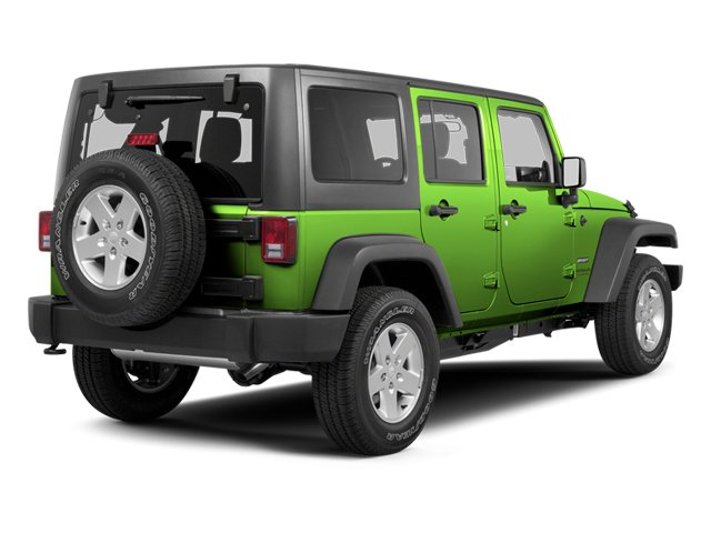Gecko Pearl 2013 Jeep Wrangler Unlimited Pictures Wrangler Unlimited Utility 4D Unlimited Sahara 4WD photos rear view