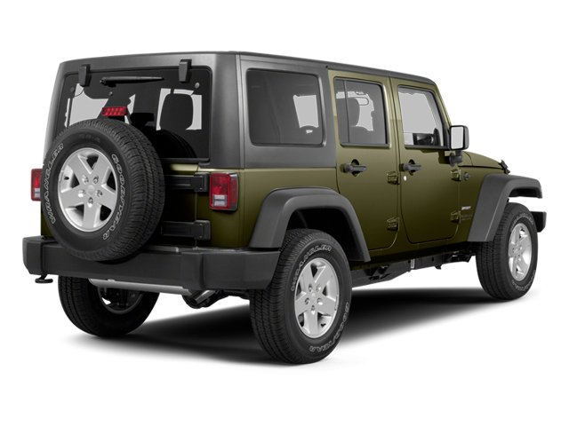 Commando Green 2013 Jeep Wrangler Unlimited Pictures Wrangler Unlimited Utility 4D Unlimited Sahara 4WD photos rear view