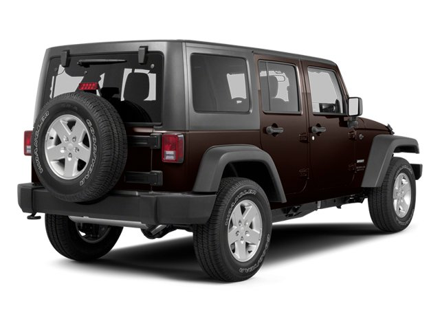 Rugged Brown Pearl 2013 Jeep Wrangler Unlimited Pictures Wrangler Unlimited Utility 4D Unlimited Sahara 4WD photos rear view