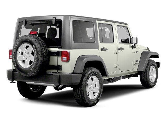 Bright White 2013 Jeep Wrangler Unlimited Pictures Wrangler Unlimited Utility 4D Unlimited Sahara 4WD photos rear view