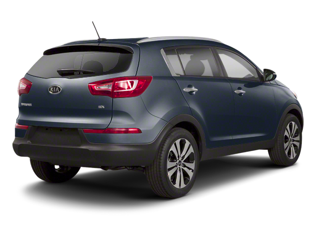 Twilight Blue 2013 Kia Sportage Pictures Sportage Utility 4D LX 2WD I4 photos rear view