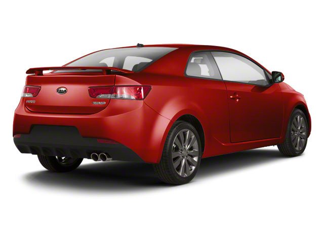 Racing Red 2013 Kia Forte Koup Pictures Forte Koup Coupe 2D SX I4 photos rear view