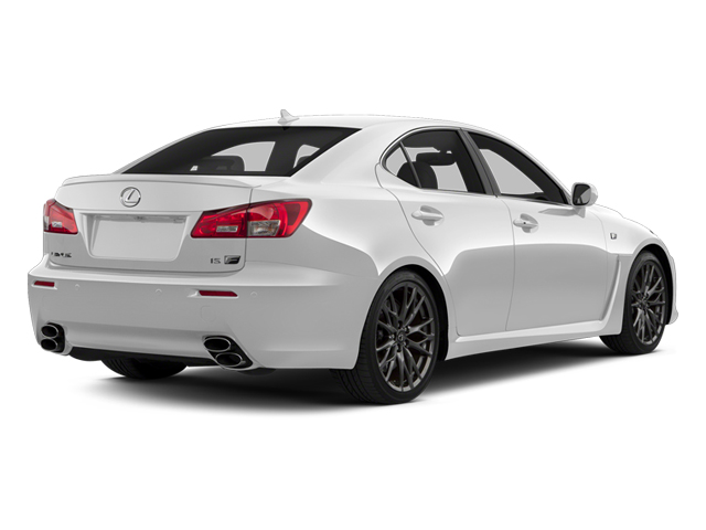 Ultra White 2013 Lexus IS F Pictures IS F Sedan 4D IS-F V8 photos rear view