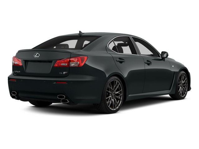 Nebula Gray Pearl 2013 Lexus IS F Pictures IS F Sedan 4D IS-F V8 photos rear view