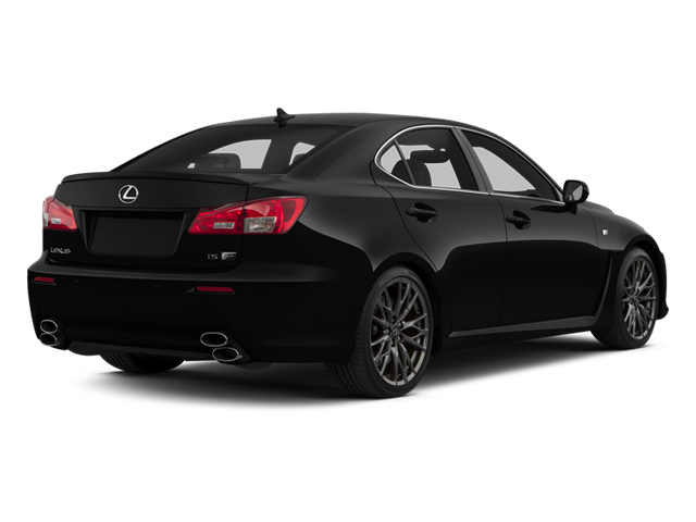 Obsidian 2013 Lexus IS F Pictures IS F Sedan 4D IS-F V8 photos rear view