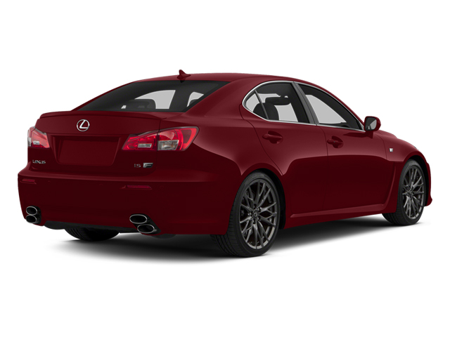 Matador Red Mica 2013 Lexus IS F Pictures IS F Sedan 4D IS-F V8 photos rear view